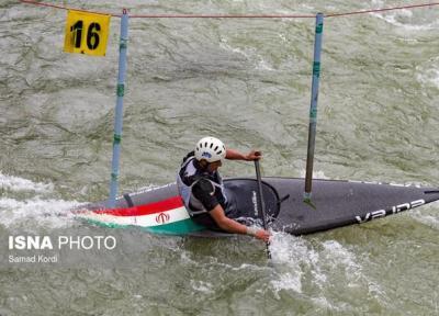 صعود دو قایقران اسلالوم ایران به نیمه نهایی بازی های آسیایی