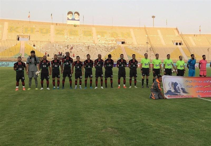 جام حذفی فوتبال، پیروزی پرگل فولاد خوزستان برابر مس شهر بابک
