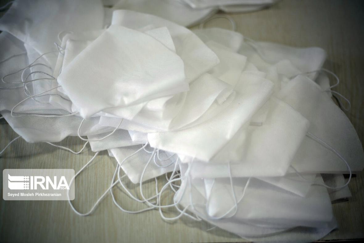 خبرنگاران کشف 100 هزار ماسک غیربهداشتی در تهران